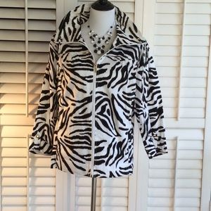 🦓 Zebra Print Jacket 🦓